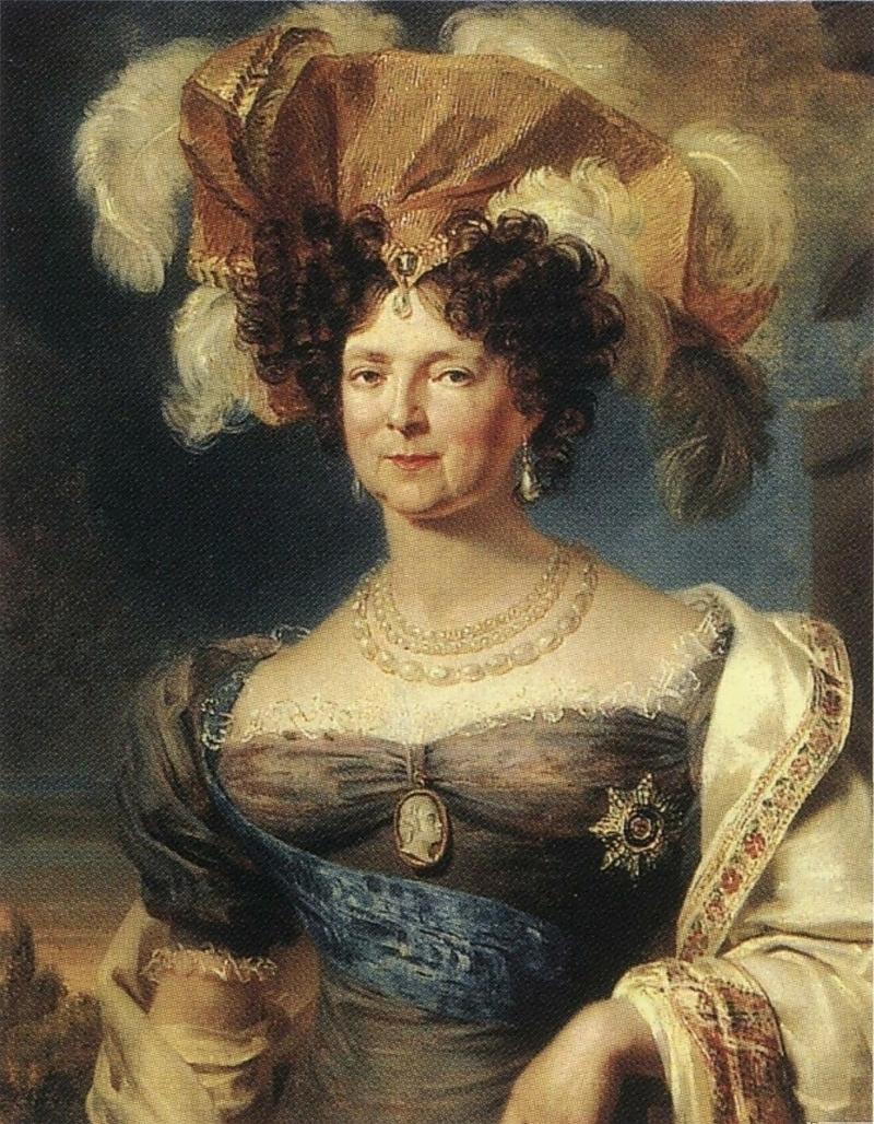 Императрица Мария Федоровна в старости. <br>